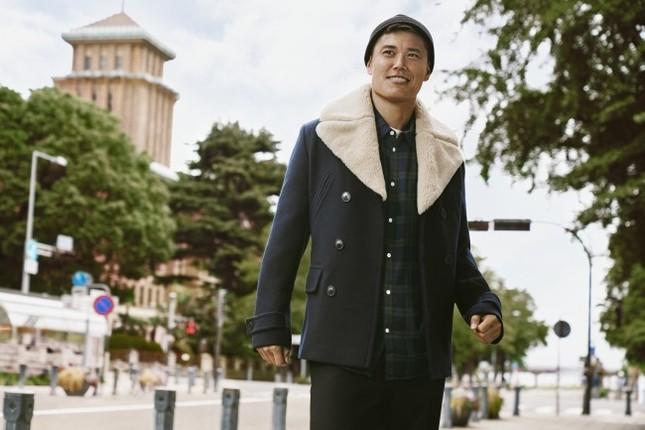 H&M秋のメンズキャンペーンモデルに川島永嗣さんを起用