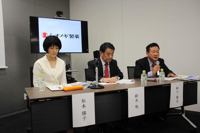 パネルディスカッションの様子(左から松本氏、鈴木氏、細川氏)