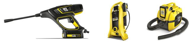 共通バッテリーで利便性を高めた「バッテリーパワー」が家庭用製品に