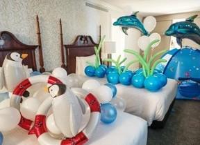 水族館、動物園のわくわくを客室で体験できる宿泊プラン