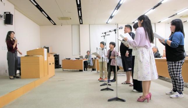 岩居さんの指導を受ける受講者