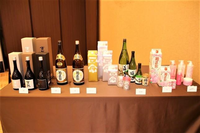 菊正宗酒造の商品ラインナップ