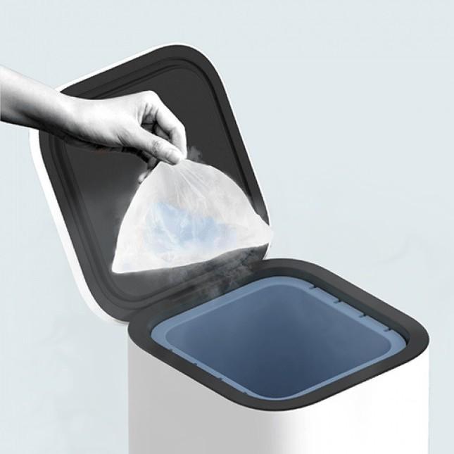 ゴミは青い部分の内カゴで保管
