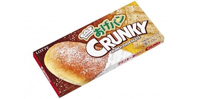 揚げパン味の「クランキー」登場