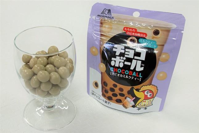 タピオカミルクティー味のチョコボールが登場
