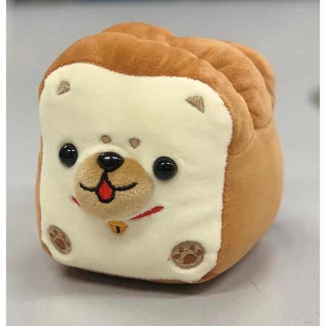 食パンのような見た目の「しばぱんミニ茶」