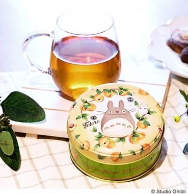優しいタッチのトトロが描かれた杏と梅のほうじ茶