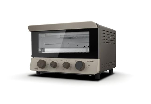 オーブントースターに様々な機能を付加 多彩な調理に活躍