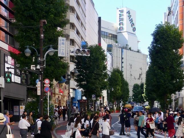 建て替え前の渋谷パルコ(2016年8月撮影)