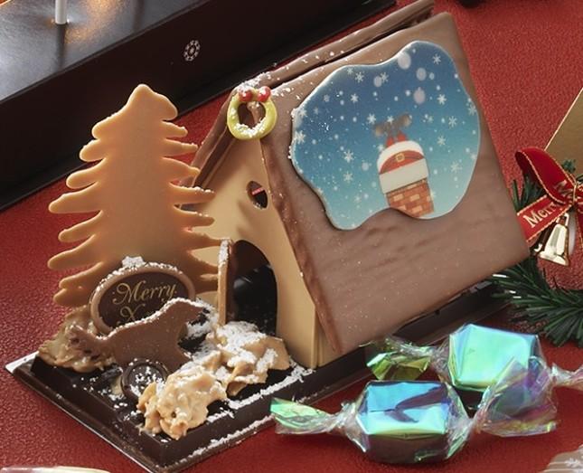 お菓子の家でクリスマスを