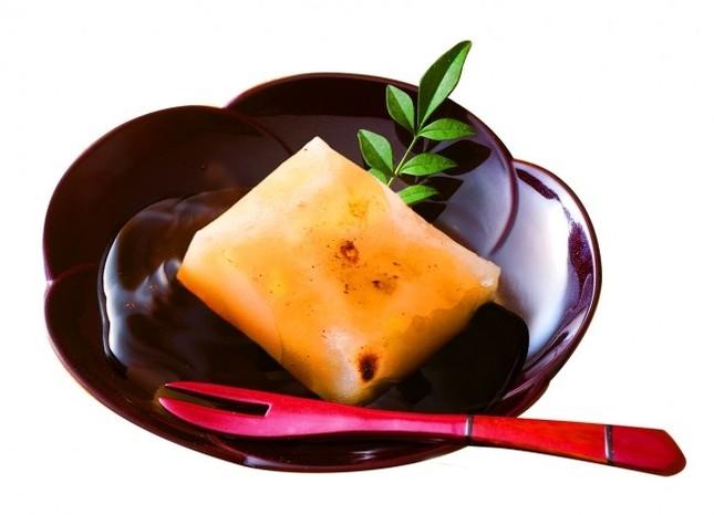 切り餅と甘味のタレのセット