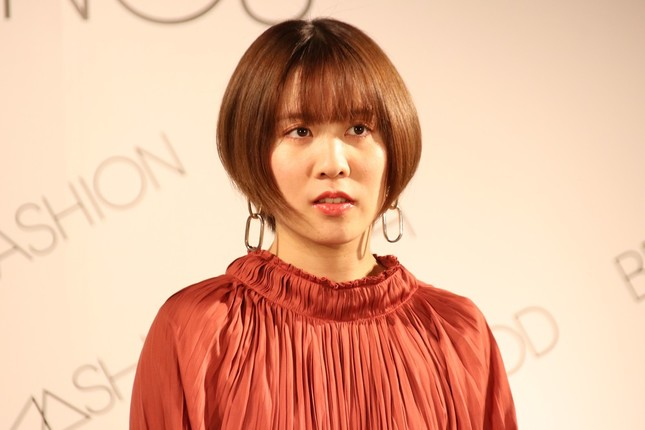 イベントに出席した平野美宇選手