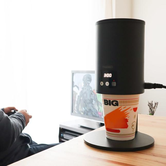 注水やタイマーも全て自動で 様々なサイズのカップに対応