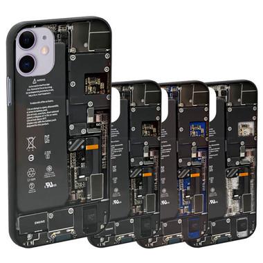 壁紙と組み合わせればiPhoneがスケルトン仕様に!?