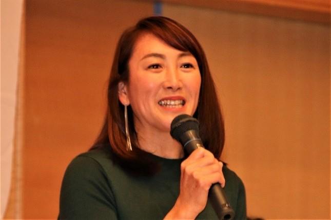 元プロテニス選手・杉山愛さん