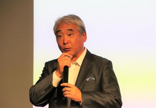 ベルシステム24代表取締役の柘植一郎氏
