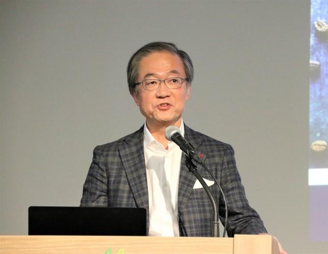デロンギ・ジャパン代表取締役社長の杉本敦男氏