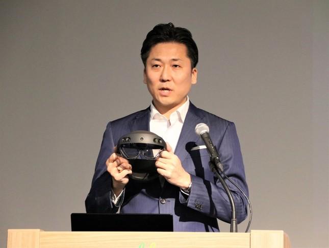 日本マイクロソフト執行役員の手島主税氏