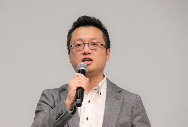DataMesh代表取締役の王暁麒氏