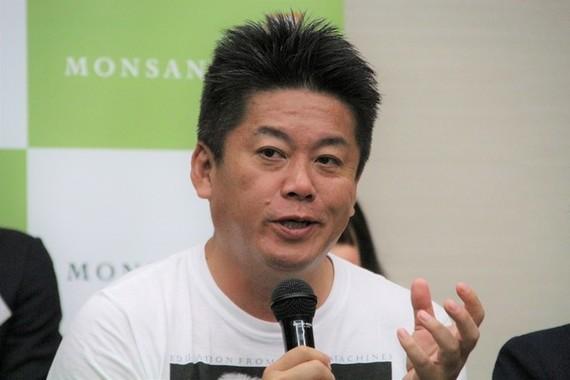 「理想的な年齢の重ね方をしていると思う著名人」に挙げられた堀江貴文氏(2017年9月撮影)