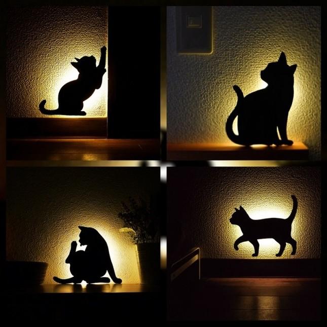 猫のウォールステッカー
