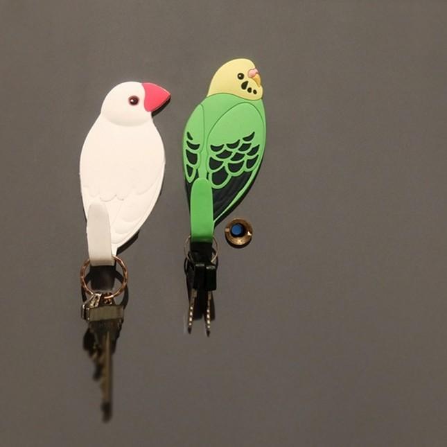 鳥のマグネットフック