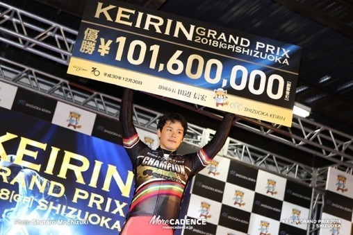 選手たちが優勝賞金1臆円を狙う「KEIRINグランプリ」(前回の様子)