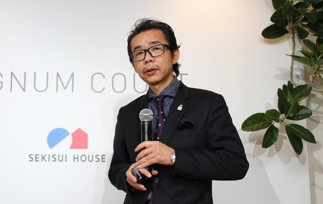 商品開発部・鉄骨商品開発室長の藤田弘樹さん