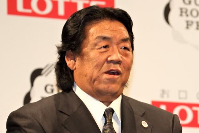 長州力さん(2015年撮影)