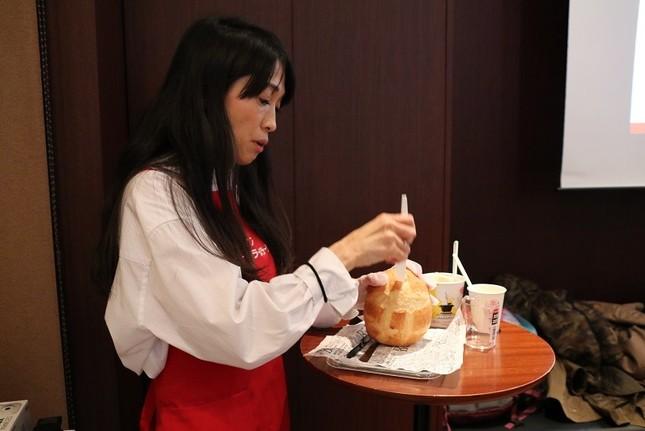 イベント講師を務めたアマノフーズブランドPR担当の鈴木章子さん