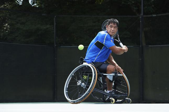 東京パラリンピックを目指す齋田選手