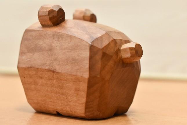 函館空港限定の独特な「木彫りの熊」(画像はネオジンベエザメ@reirei9412さん提供)