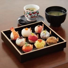 「LINEポコポコてまり寿司セット」
