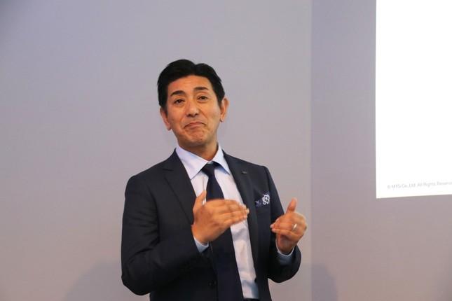 代表取締役社長の松下剛氏