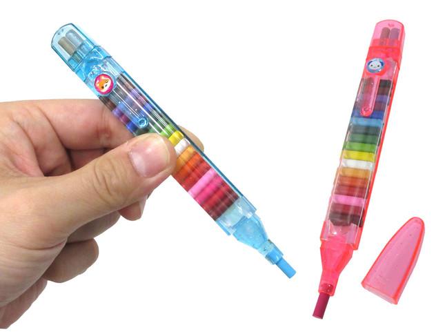 ペン先の芯を差し替えることで簡単にカラーチェンジ