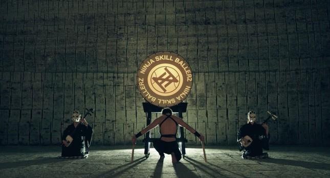 パフォーマンス動画「忍者式籠球部隊」