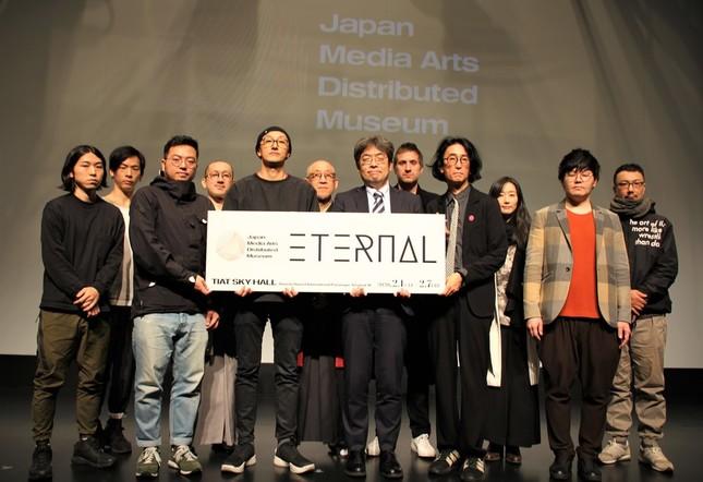 「ETERNAL~千秒の清寂」内覧会に出席したクリエイターたち