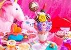 カラフルかわいいフードいっぱい 「ジェンダーレスな乙女KAWAII」ハンバーガーやパフェ
