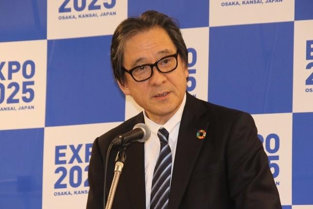 2025年日本国際博覧会協会事務総長の石毛博行氏