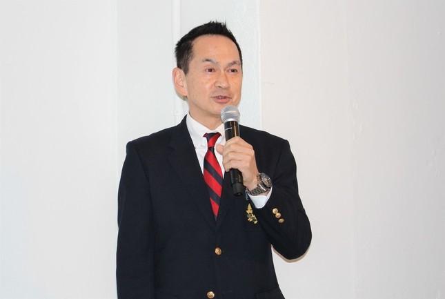 取締役兼マーケティング本部長CMOの佐伯博司氏
