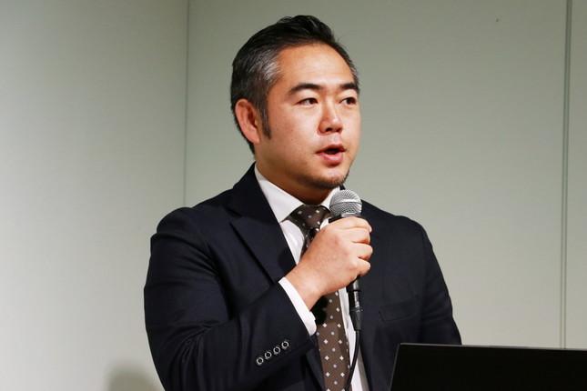 気仙沼水産資源活用研究会の佐藤俊輔会長