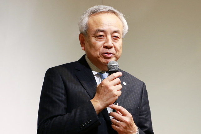 気仙沼市長の菅原茂氏