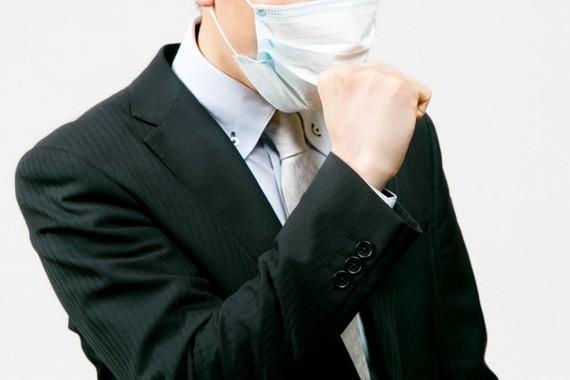 インフルエンザなのに無理して出社