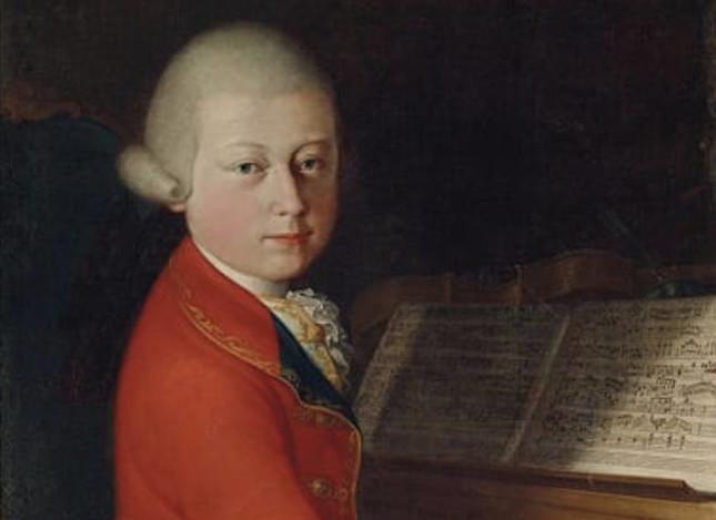 モーツァルトが13歳の頃、イタリアで書かれたといわれる肖像画