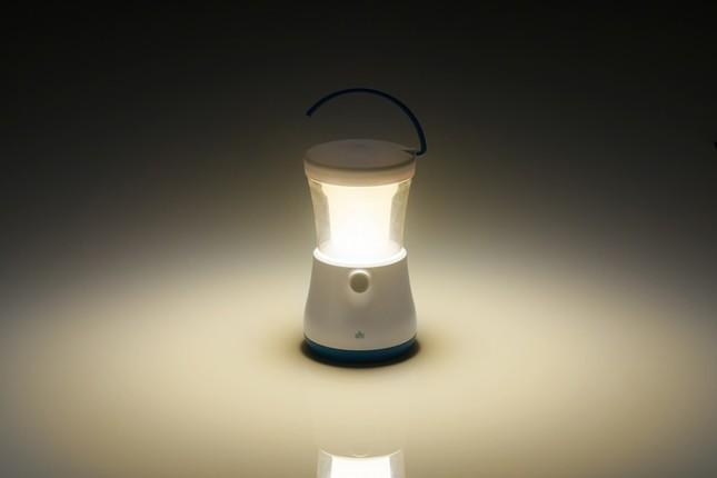 最大約500時間明かりを確保できる「LOGOSランタン330」