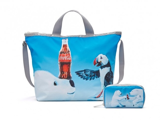 レスポと「コカ・コーラ」がコラボ