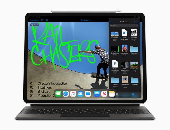 フラッグシップ「iPad Pro」がさらに操作性や性能を高めて新登場