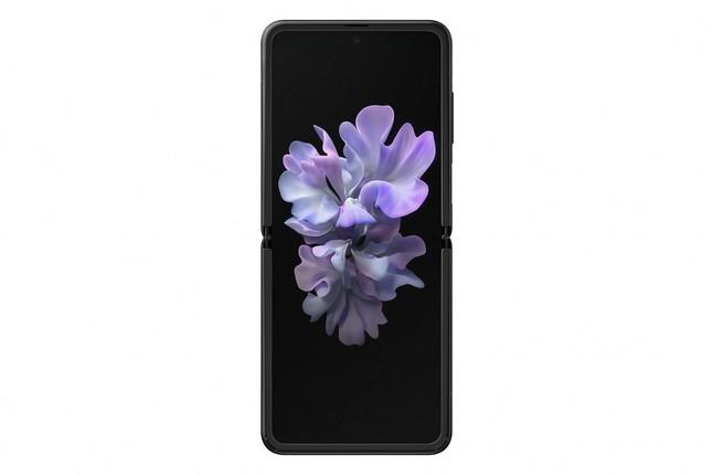 Galaxy Z Flipミラーブラック