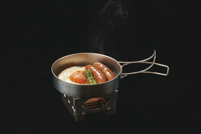 「マイクロステンコンロ」を使った調理イメージ