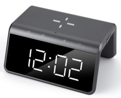 アラーム付き時計+ワイヤレス充電